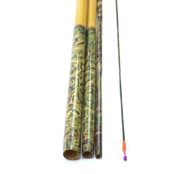 魁州作 魁州 へら竿 和竿 12尺/H495L 美品|tsuriking|02