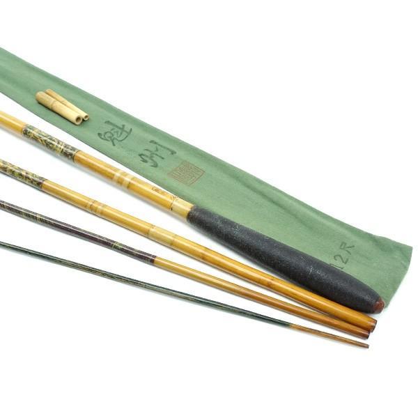 魁州作 魁州 へら竿 和竿 12尺/H495L 美品|tsuriking|03
