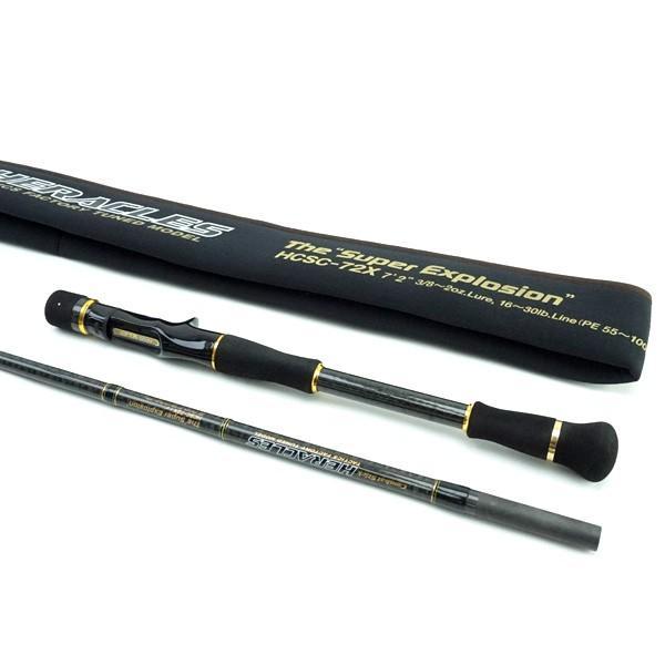 エバーグリーン ヘラクレス スーパーエクスプロージョン HCSC-72X/K167LL バスロッド 極上美品|tsuriking|03