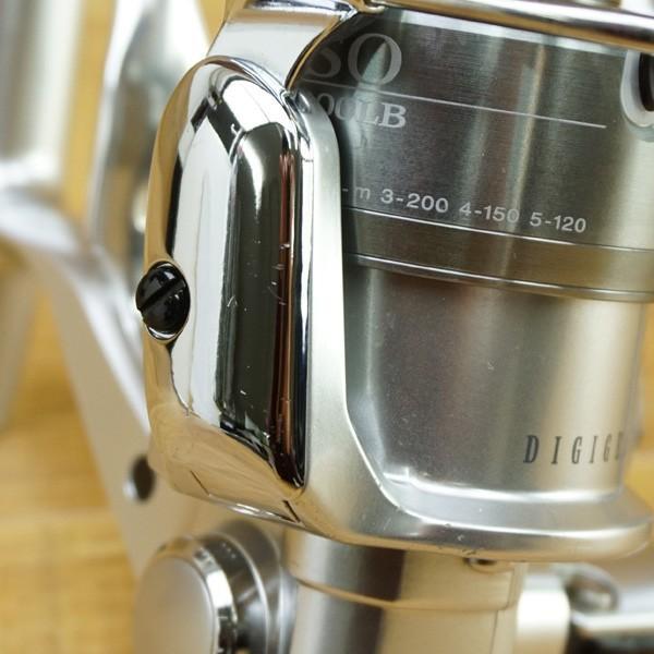 ダイワ インパルトISO 3000LB、ISOスペシャルII 尾長スプール付/M526M 美品 スピニングリール|tsuriking|06