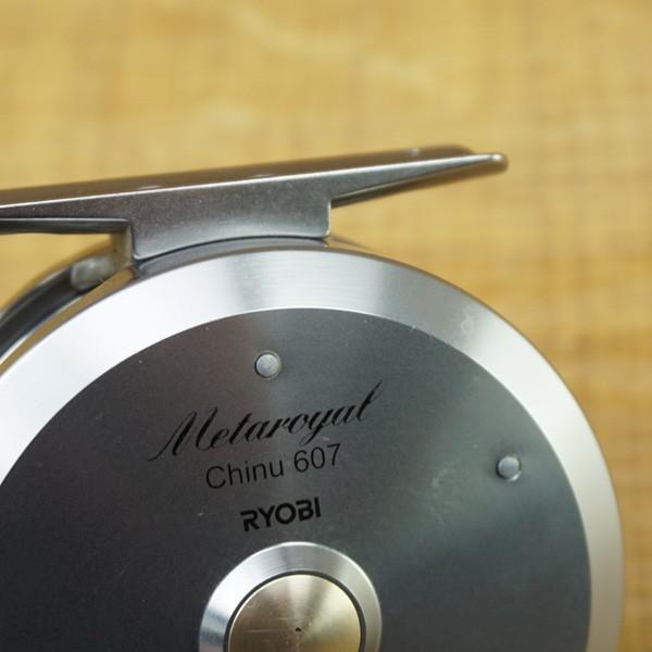リョービ メタロイヤル チヌ 607/M530M 片軸リール|tsuriking|07