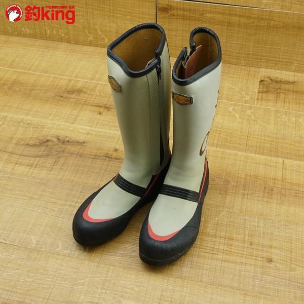 がまかつ フィッシングブーツ GM-390 M/M537M 美品 磯靴|tsuriking