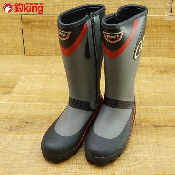 がまかつ スパイクブーツ GM-443 SS/M538M 美品 フィッシングブーツ 磯靴|tsuriking