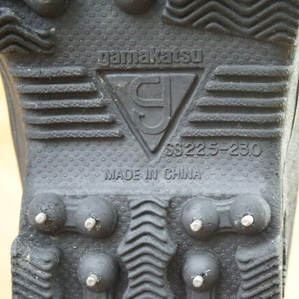 がまかつ スパイクブーツ GM-443 SS/M538M 美品 フィッシングブーツ 磯靴|tsuriking|07