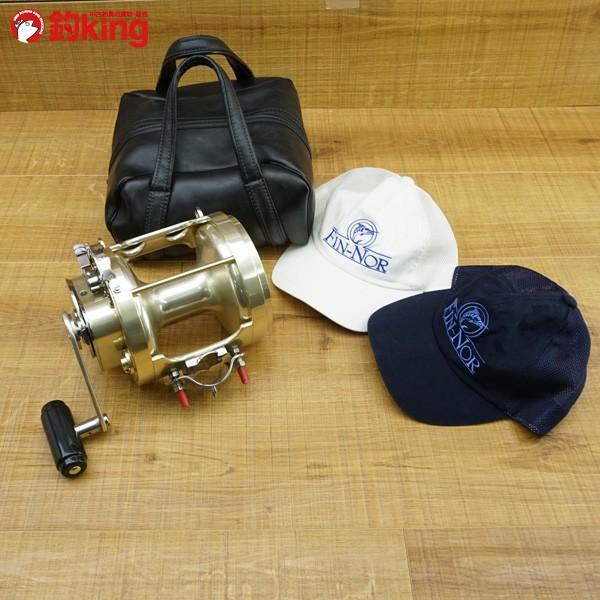 フィンノール リールケース、キャップ3点セット トローリング/M555M 未使用品 両軸リール|tsuriking