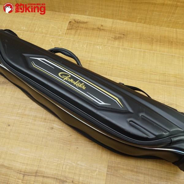 がまかつ がま磯 ハイブリッド ロッドケース GC-262 ブラック/N010Y 美品|tsuriking