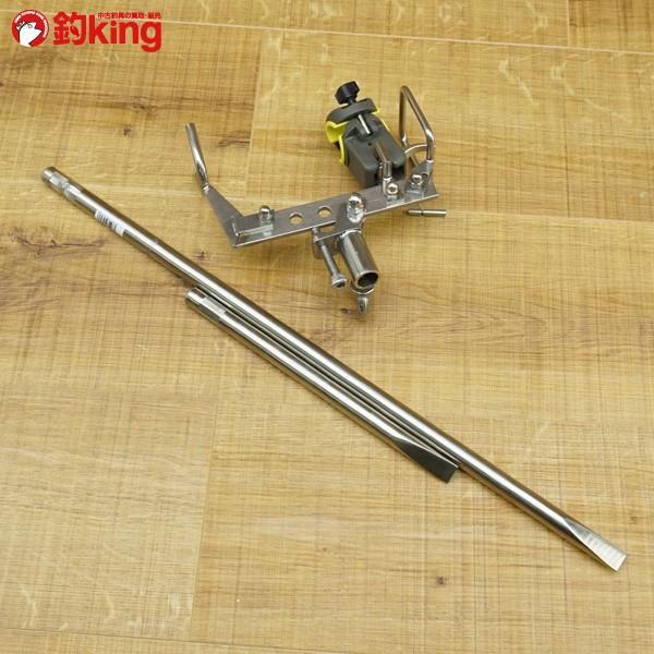 ガルツ GARTZ ワンタッチピトン 別売 スノーピーク ロッドキーパー、55cm足付/N026M 未使用品 ピトン 竿受け tsuriking