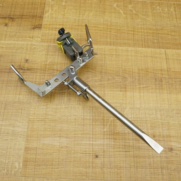 ガルツ GARTZ ワンタッチピトン 別売 スノーピーク ロッドキーパー、55cm足付/N026M 未使用品 ピトン 竿受け tsuriking 02
