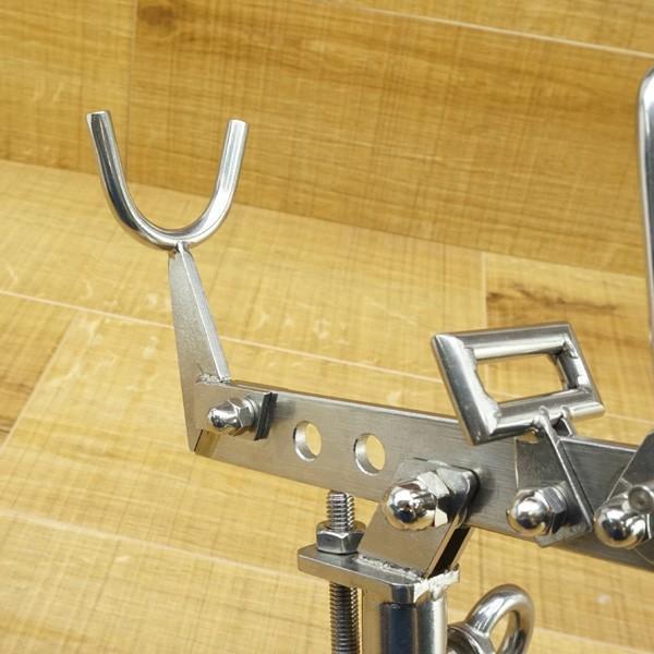 ガルツ GARTZ ワンタッチピトン 別売 スノーピーク ロッドキーパー、55cm足付/N026M 未使用品 ピトン 竿受け tsuriking 05