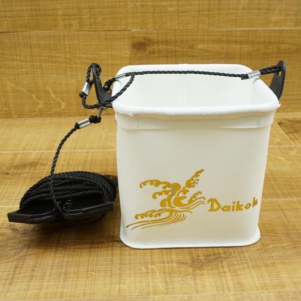 ダイコー バッカン 40cm、水汲みバケツセット/N037M バッカン セット品|tsuriking|08