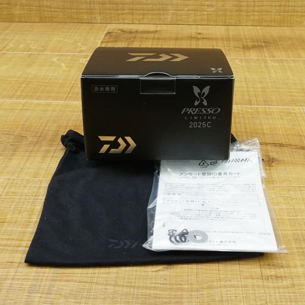 ダイワ 17プレッソ LTD 2025C/N075M 極上美品 スピニングリール|tsuriking|10