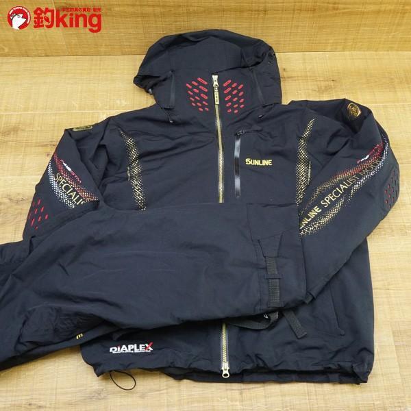 サンライン DIAPLEX ウォームアップスーツ SUW-1803 L/P103M ウェア 防寒 美品|tsuriking