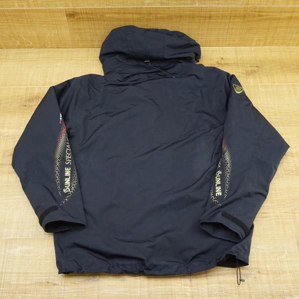 サンライン DIAPLEX ウォームアップスーツ SUW-1803 L/P103M ウェア 防寒 美品|tsuriking|03