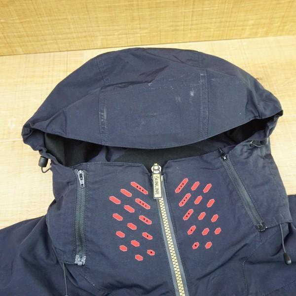 サンライン DIAPLEX ウォームアップスーツ SUW-1803 L/P103M ウェア 防寒 美品|tsuriking|04