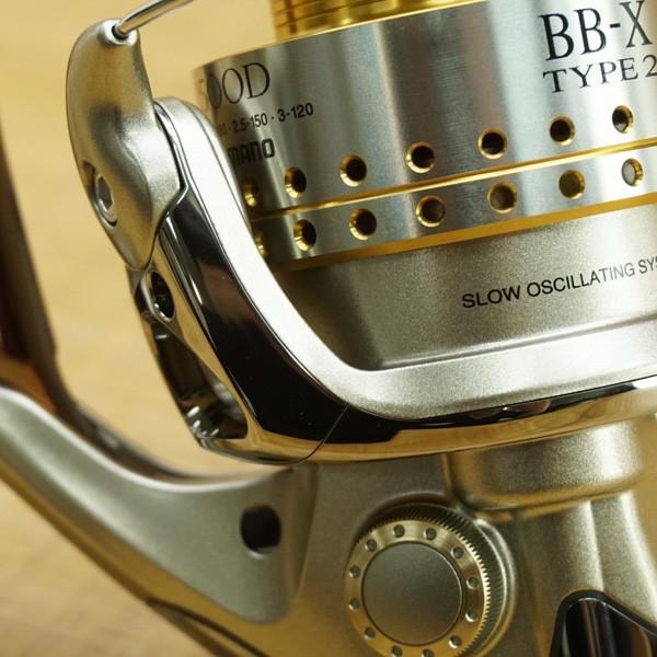 シマノ BB-X タイプ2 Mg 2500D/P185M 極上美品 スピニングリール|tsuriking|06
