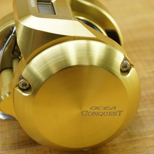 シマノ 18オシアコンクエスト CT 300HG スタジオオーシャンマーク AG41付き/P180M 極上美品 ベイトリール|tsuriking|04