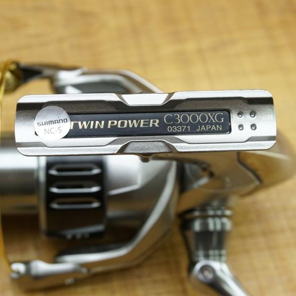 シマノ 15ツインパワー C3000XG/P278M スピニングリール 極上美品|tsuriking|03