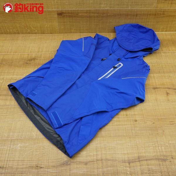 シマノ XEFO ゴアテックス パックライト ハイブリッドストレッチレインジャケット RA-20JJ Mサイズ/P287M フィッシングウェア 極上美品 tsuriking