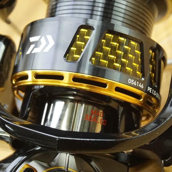 ダイワ 14モアザン 3012H/P300M スピニングリール シーバス 極上美品|tsuriking|06
