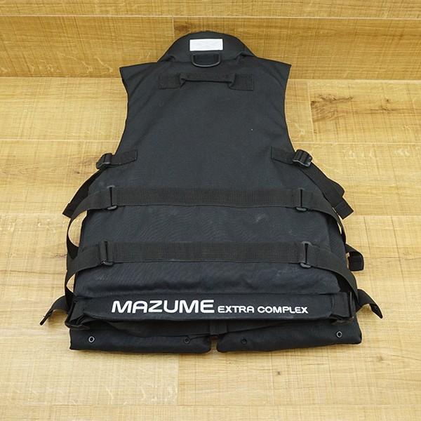 マズメ MZX コンタクトライフジャケット MZXLJ-052 ブラック/P531M フローティングベスト ライフジャケット 美品|tsuriking|02