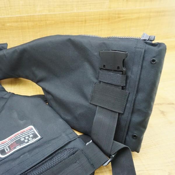 マズメ MZX コンタクトライフジャケット MZXLJ-052 ブラック/P531M フローティングベスト ライフジャケット 美品|tsuriking|06