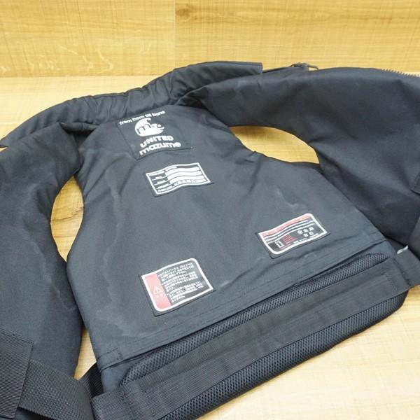 マズメ MZX コンタクトライフジャケット MZXLJ-052 ブラック/P531M フローティングベスト ライフジャケット 美品|tsuriking|07