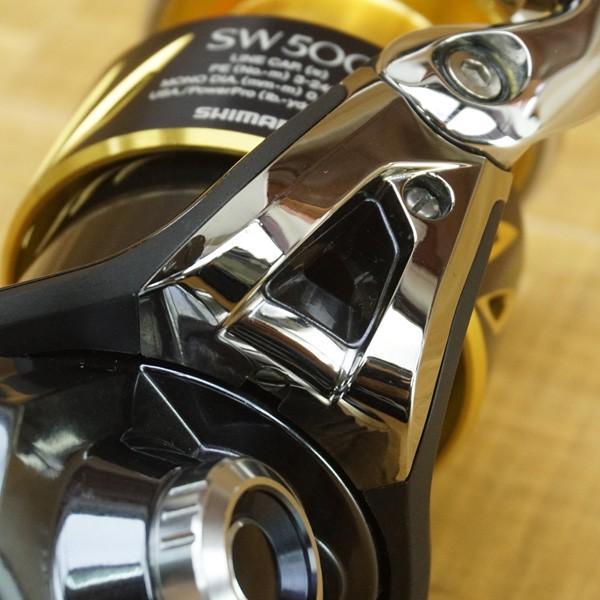 シマノ 13ステラSW 5000HG/P578M 大型番手 スピニングリール 美品|tsuriking|06