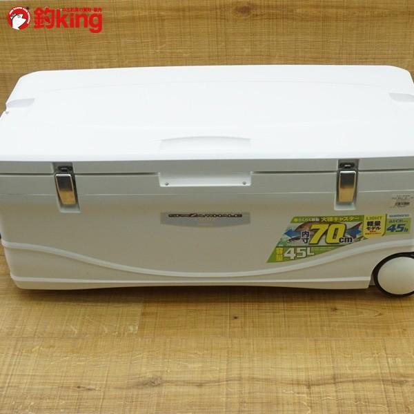 シマノ スペーザ ホエールライト 45L LC-045L/P584L 美品 クーラーボックス|tsuriking