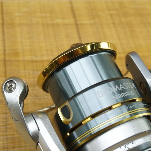 シマノ 08バイオマスター C3000S/Q123M スピニングリール tsuriking 09