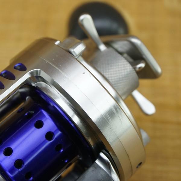 シマノ カルカッタコンクエスト タイプJ-M/Q137M 美品 ベイトリール|tsuriking|06