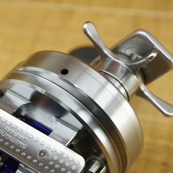 シマノ カルカッタコンクエスト タイプJ-M/Q137M 美品 ベイトリール|tsuriking|08