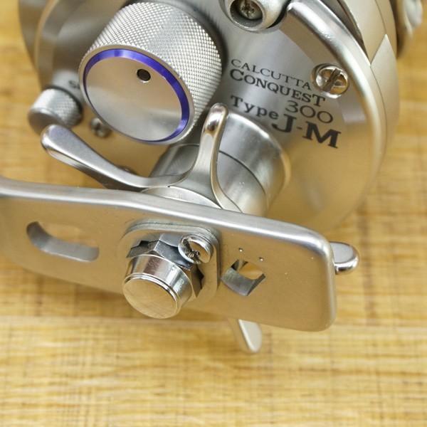 シマノ カルカッタコンクエスト タイプJ-M/Q137M 美品 ベイトリール|tsuriking|09