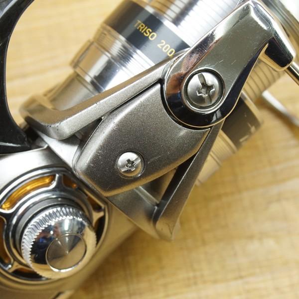 ダイワ 16トライソ 2000H-LBD/Q141M 美品 スピニングリール|tsuriking|07