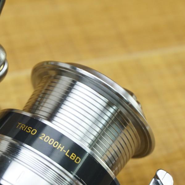 ダイワ 16トライソ 2000H-LBD/Q141M 美品 スピニングリール|tsuriking|09