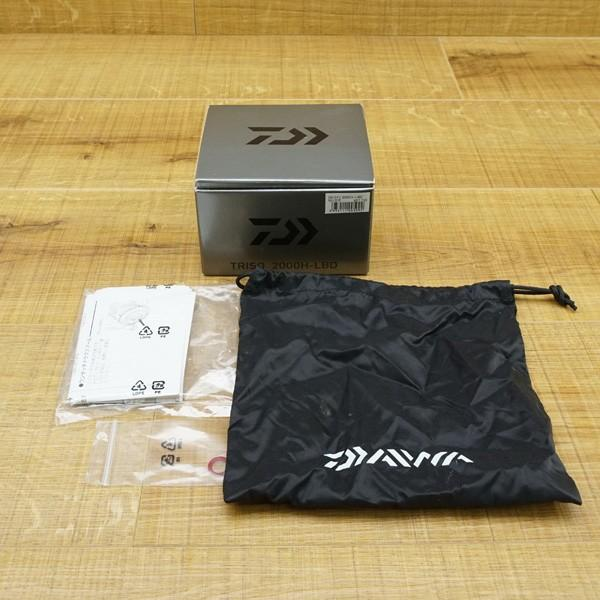 ダイワ 16トライソ 2000H-LBD/Q141M 美品 スピニングリール|tsuriking|10