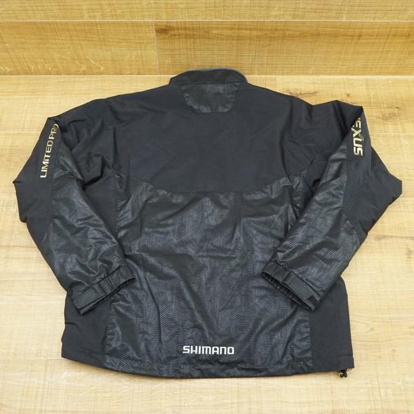 シマノ ネクサス GWS サーマルスーツ リミテッドプロ リミテッドブラック  MD−112R XLサイズ/Q145M 美品 フィッシングウェア|tsuriking|02