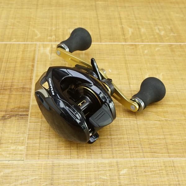 シマノ グラップラー BB 200HG/Q153M 美品 ベイトリール|tsuriking|02