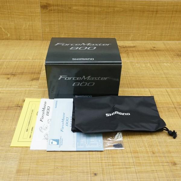 シマノ 15フォースマスター 800/Q148M 美品 電動リール|tsuriking|10