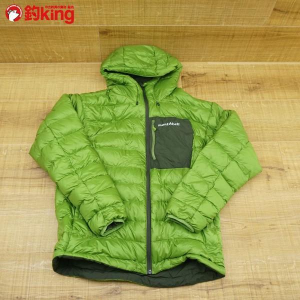 モンベル コロラドパーカー カーキグリーン/メドーグリーン 1101492 Mサイズ/Q167M 極上美品 ダウンジャケット|tsuriking