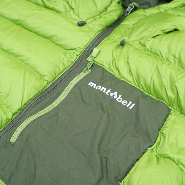 モンベル コロラドパーカー カーキグリーン/メドーグリーン 1101492 Mサイズ/Q167M 極上美品 ダウンジャケット|tsuriking|03