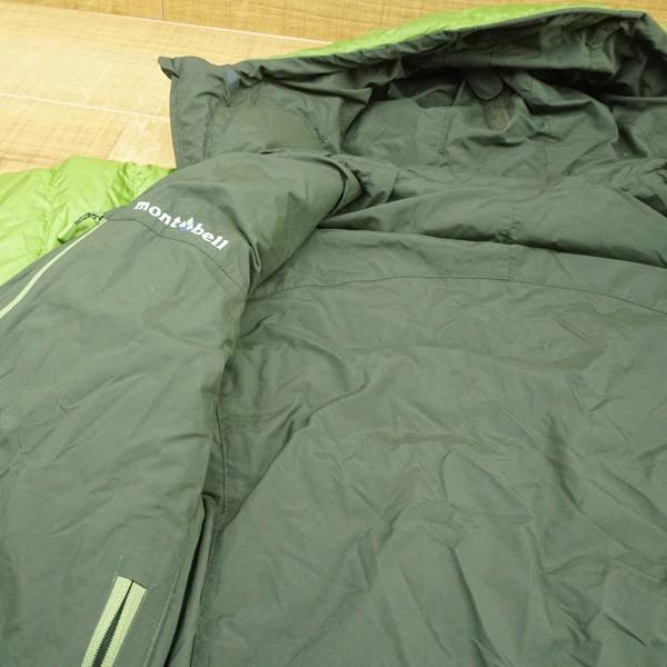 モンベル コロラドパーカー カーキグリーン/メドーグリーン 1101492 Mサイズ/Q167M 極上美品 ダウンジャケット|tsuriking|05