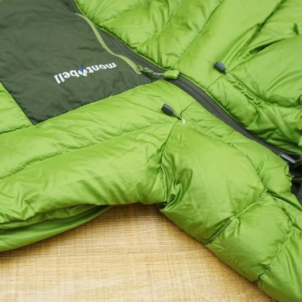 モンベル コロラドパーカー カーキグリーン/メドーグリーン 1101492 Mサイズ/Q167M 極上美品 ダウンジャケット|tsuriking|07