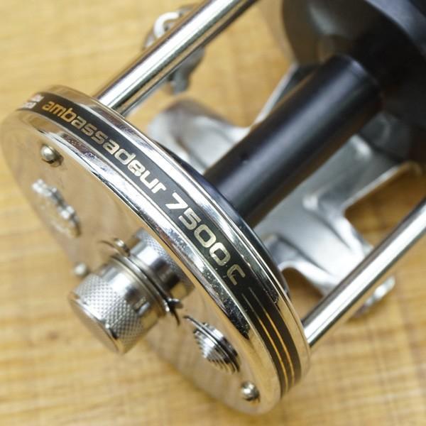 アブガルシア アンバサダー 7500C/Q180M 美品 ベイトリール|tsuriking|04