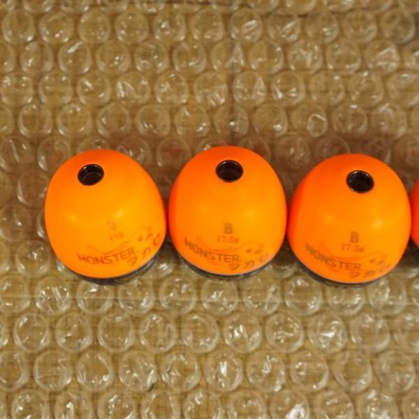 釣研 ウキ モンスターフカセ 4個セット 1/ST1007S 磯釣り フカセ 仕掛け ウキSET tsuriking 06