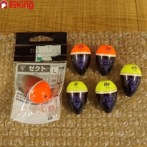 釣研 ウキ ゼクト 6個セット 1/ST1018S ウキセット 磯釣り 仕掛け SET品|tsuriking