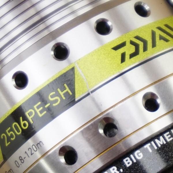 ダイワ ディースマーツ 2506PE-SH/S417M スピニングリール 美品 tsuriking 06