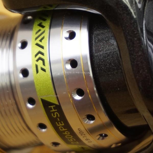 ダイワ ディースマーツ 2506PE-SH/S417M スピニングリール 美品 tsuriking 09