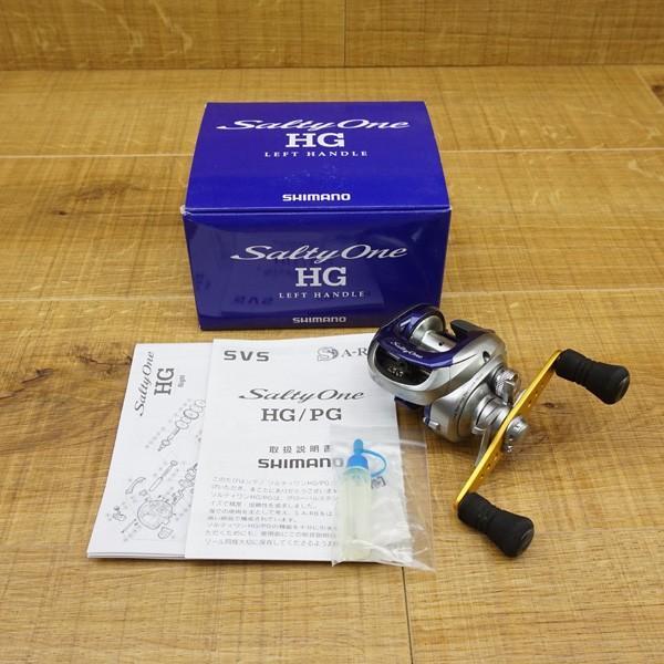 シマノ 11ソルティーワン HG 右、アブガルシア ブラックマックス BMAX3-L 2台セット/S428M ベイトリール ソルトリール 美品|tsuriking|05