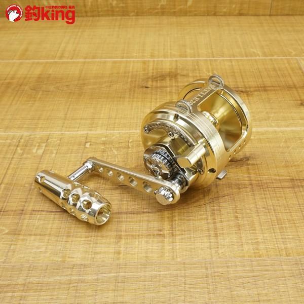 アリゲーター バトル 20 ゴールド 純正ハンドル付/S557M 美品 両軸リール|tsuriking