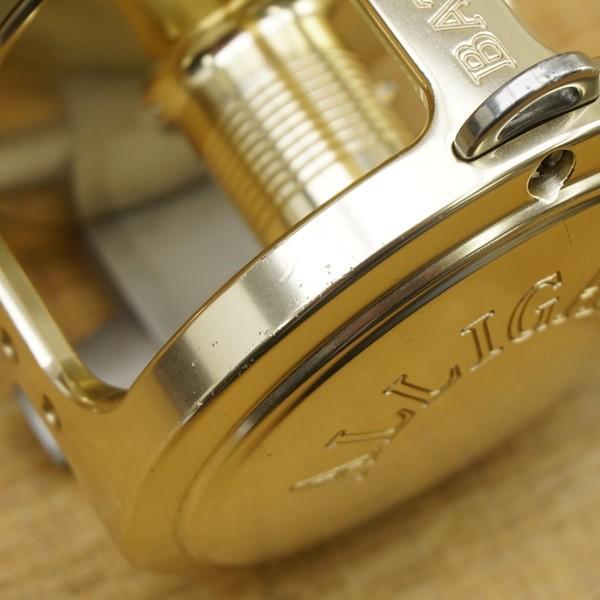 アリゲーター バトル 20 ゴールド 純正ハンドル付/S557M 美品 両軸リール|tsuriking|04